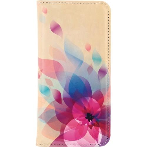 Mobilize Premium Magnet Book Fire Flower iPhone 5-5S