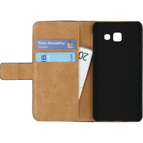 Mobilize Classic Wallet Case Samsung Galaxy A3 2016 Zwart