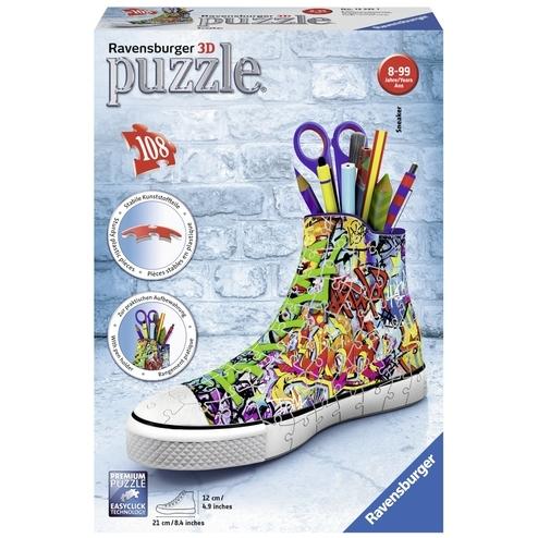 Ravensburger 3D-puzzel Sneaker Grafitti Print 108 stukjes