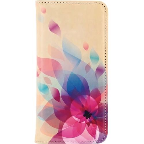 Mobilize Premium Magnet Book Case Samsung Galaxy S7 Fire Flower