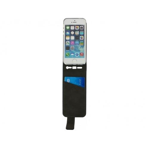 Mobilize Classic Gelly Flip Case Apple iPhone 5-5S-SE Zwart