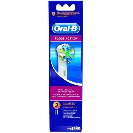 Opzetborstel voor elektrische tandenborstel Oral-B 3 stuks Wit