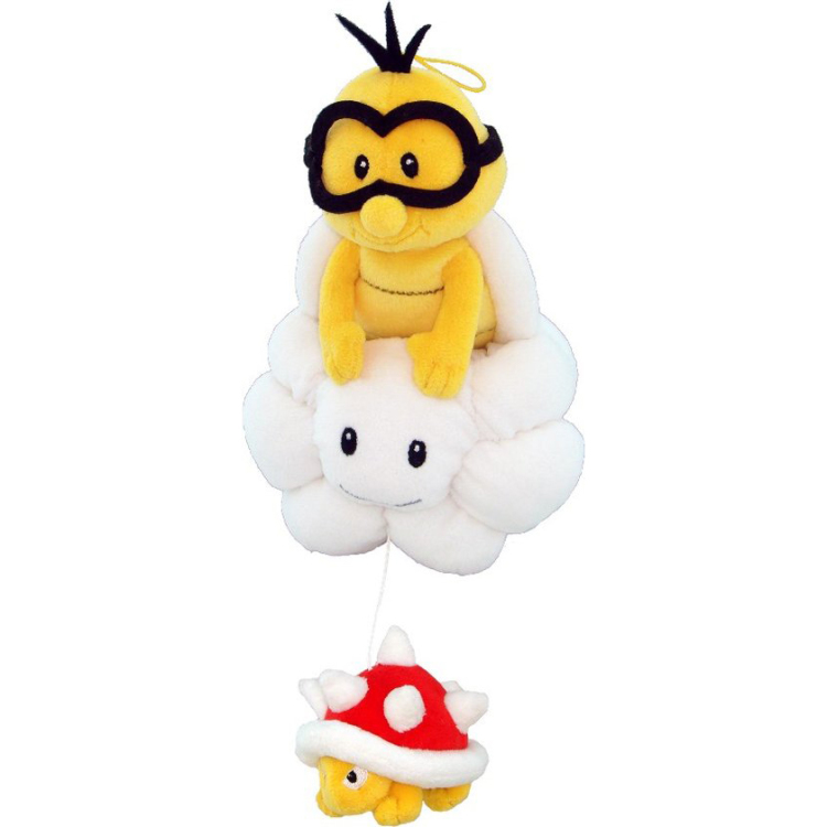 Super Mario Bros.: Lakitu 8 Inch Plush