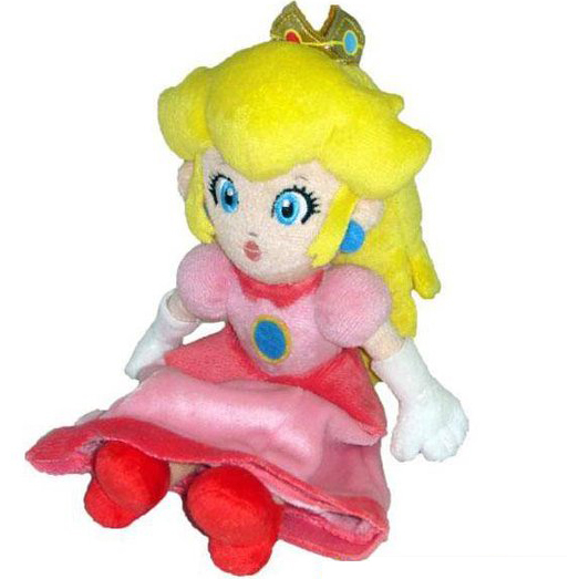 Super Mario Bros.: Peach 8 Inch Plush