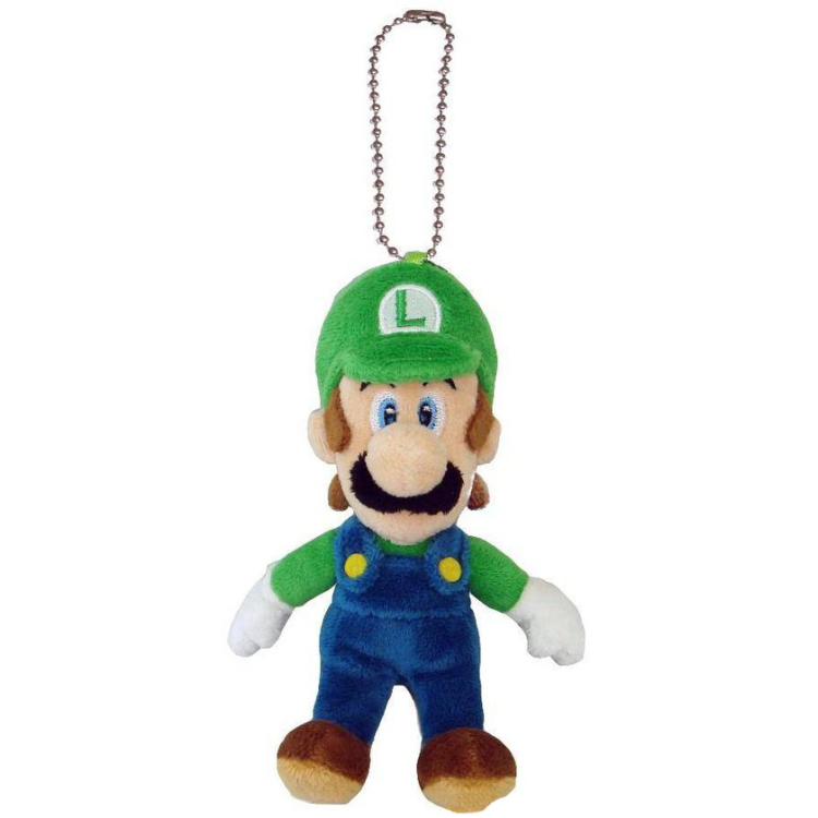 Super Mario Bros.: Luigi 5 Inch Plush Key Chain