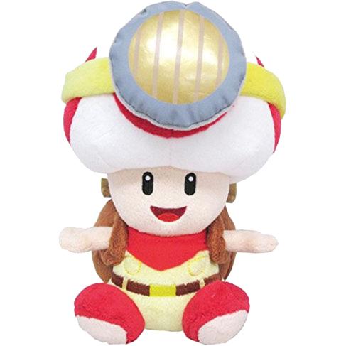 Super Mario Bros.: Captain Toad Sitting 7 Inch Plush