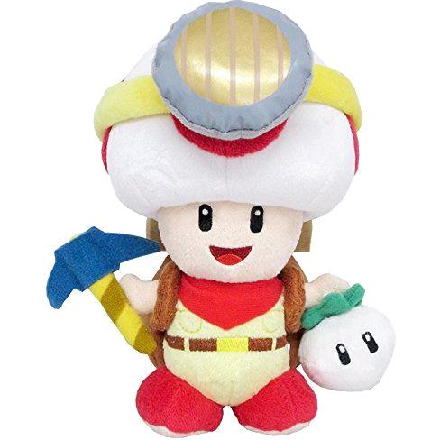 Super Mario Bros.: Captain Toad Standing 9 Inch Plush