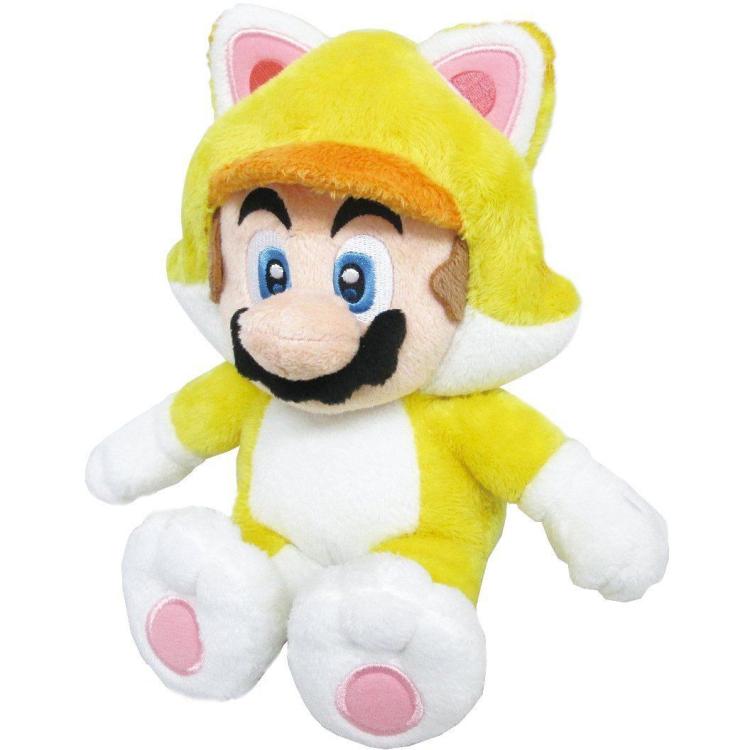 Super Mario Bros.: Cat Mario 10 Inch Plush