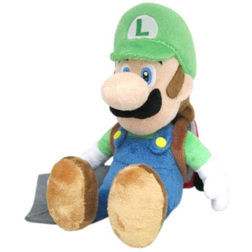 Super Mario Bros.: Luigi Poltergust 5000 7 Inch Plush