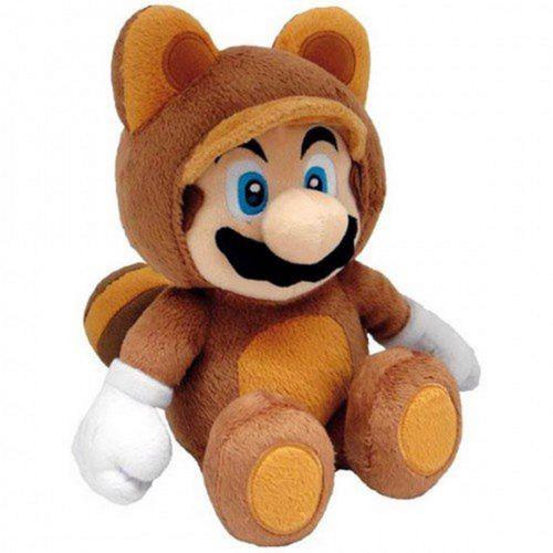 Super Mario Bros.: Tanooki Mario 12 Inch Plush