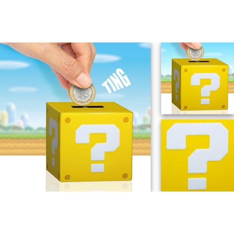 Super Mario: Question Block Moneybox