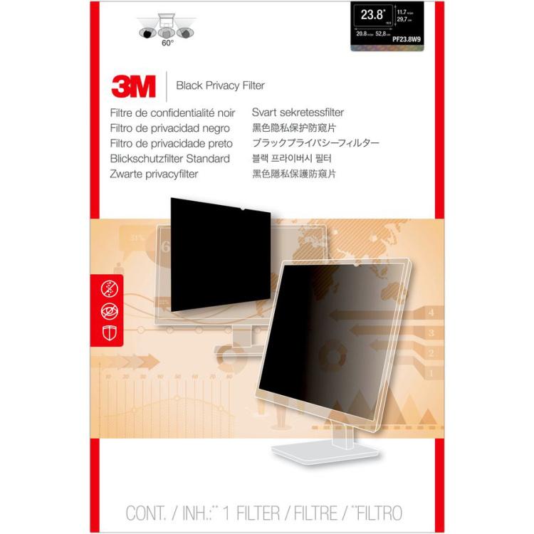 3M Privacyfilter voor breedbeeldscherm voor desktop 23,8 inkijkbeveiliging