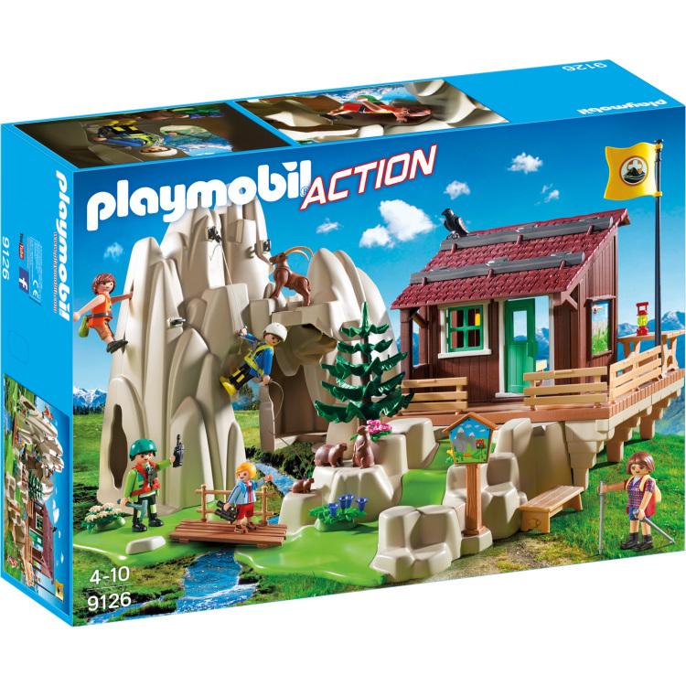 Bergbeklimmers met berghut Playmobil (9126)
