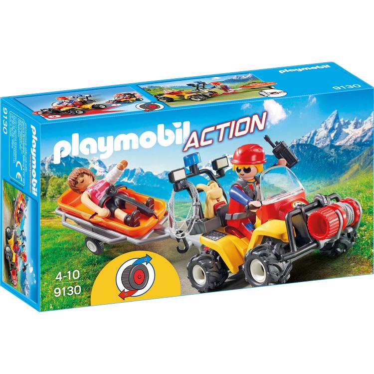 Reddingsquad met draagberrie Playmobil (9130)