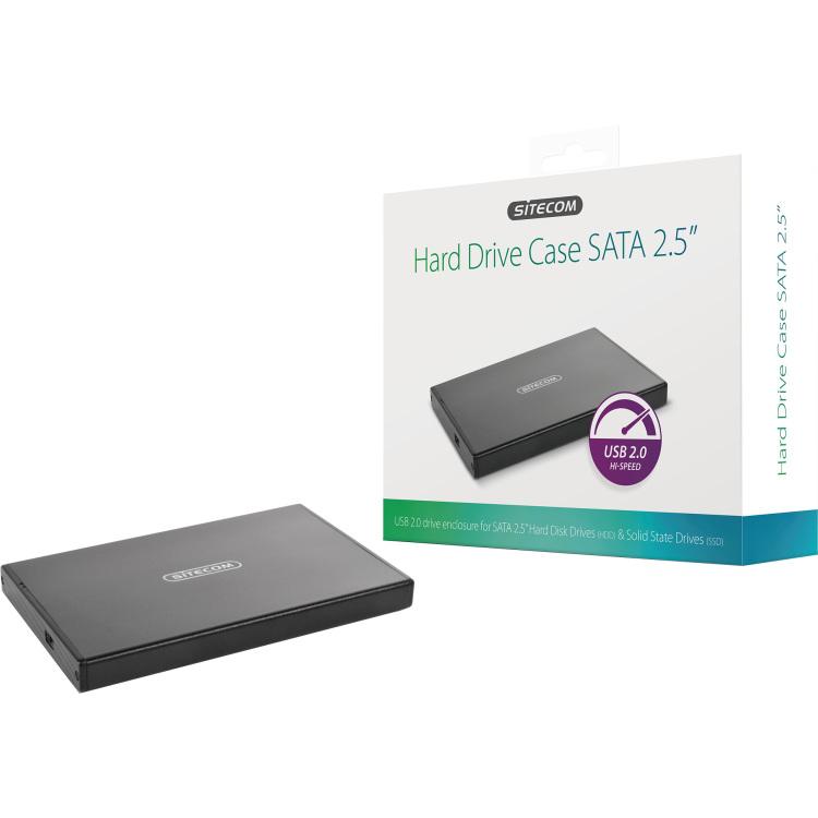 USB 2.0 Hard Drive Case SATA 2.5