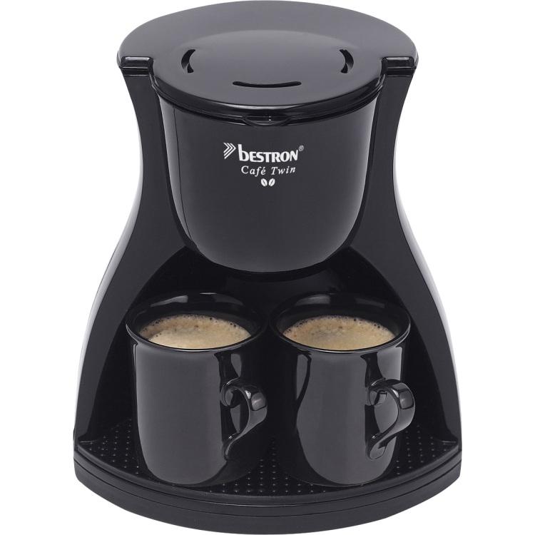 Bestron ACM8007BE koffiezetapparaat met 2 kopjes 450 W