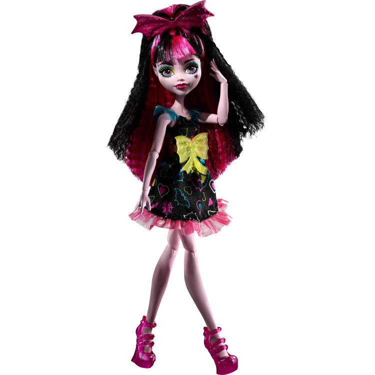 Electrified Hair-raising Ghouls Draculaura Doll