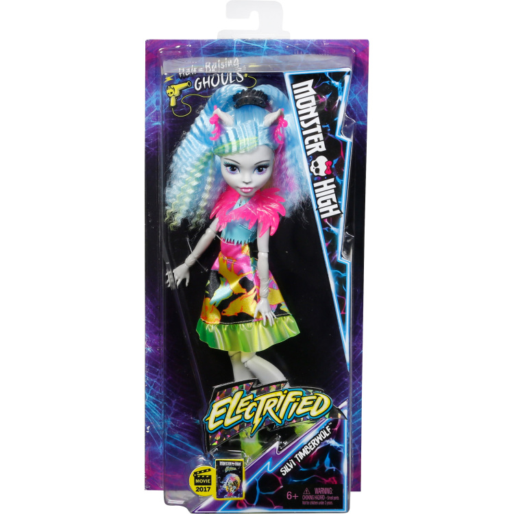 Electrified Hair-raising Ghouls Silvi Timberwolf D