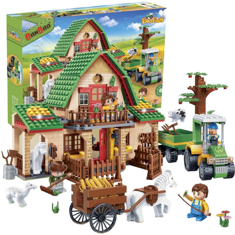 Eco boerderij - Boerderij stad