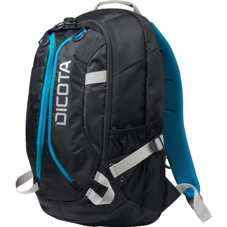 Dicota Dicota, Backpack Active 14-15.6 inch (Zwart-Blauw) (D31047)