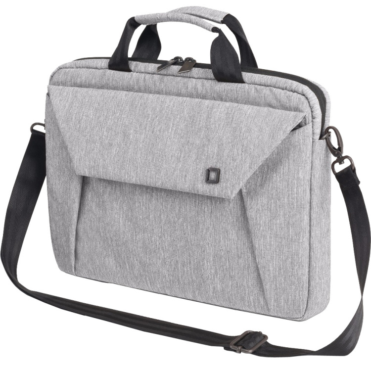 DICOTA Slim Case EDGE Light Grey 12-13.3