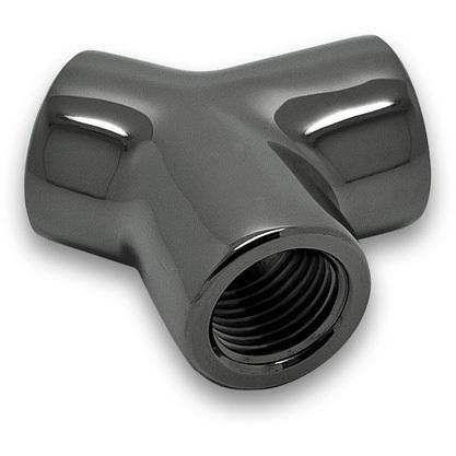 Productafbeelding voor 'EK-AF Y-Splitter 3F G1/4 - Black Nickel'