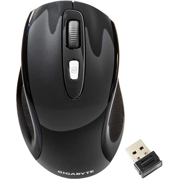 GiBy WL GM-M7600 1600dpi black    OPT U