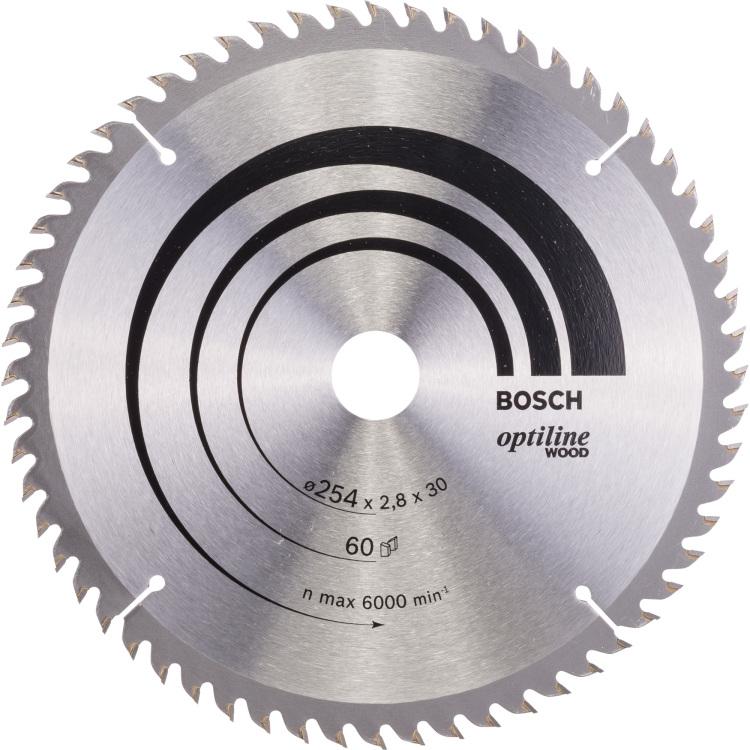 Bosch Optiline Cirkelzaagblad