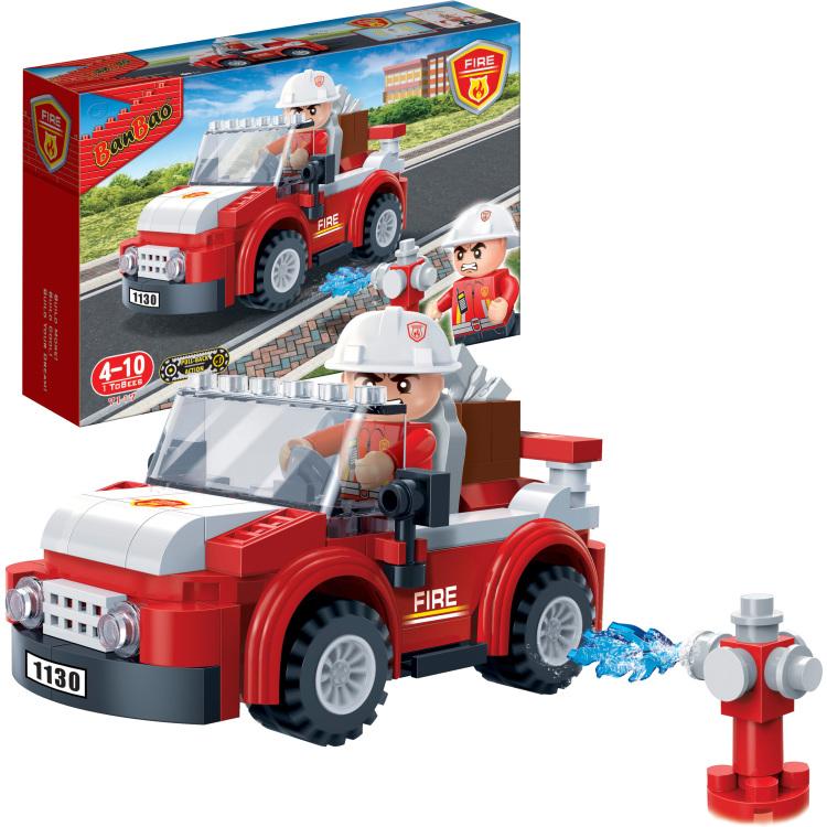 Fire - Brandweerman en auto