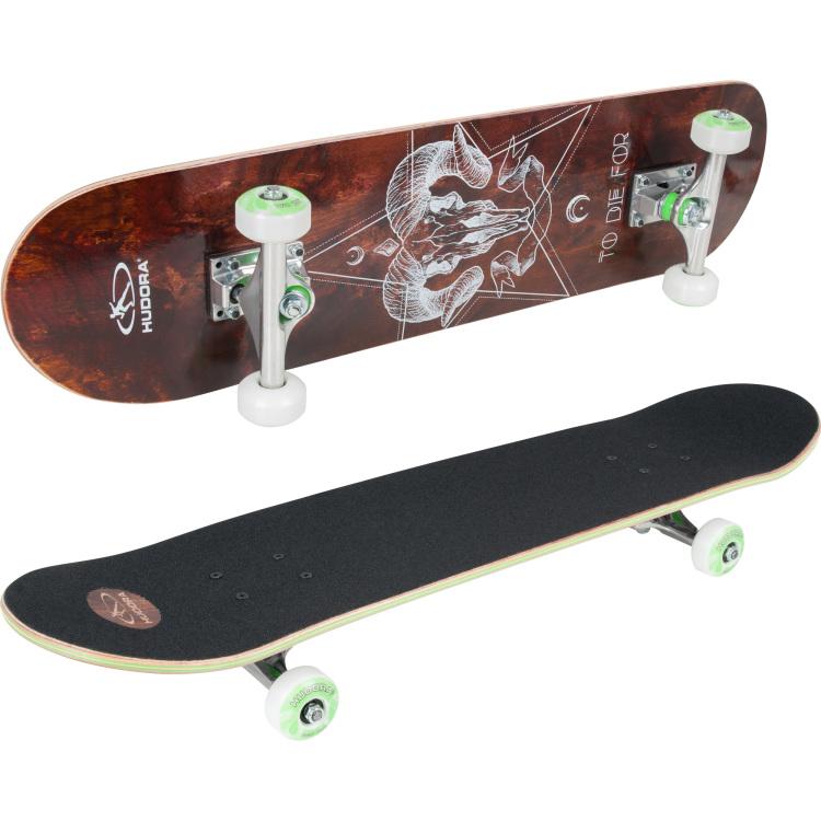 12c05061bc1 Het hudora skateboard bronx is een krachtig skateboard met een bite! het  deck is gemaakt