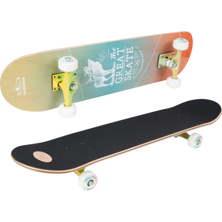 74a93eeac8e Het hudora skateboard inglewood is een stijlvol skateboard voor zowel  beginners als gevorderden ! het deck