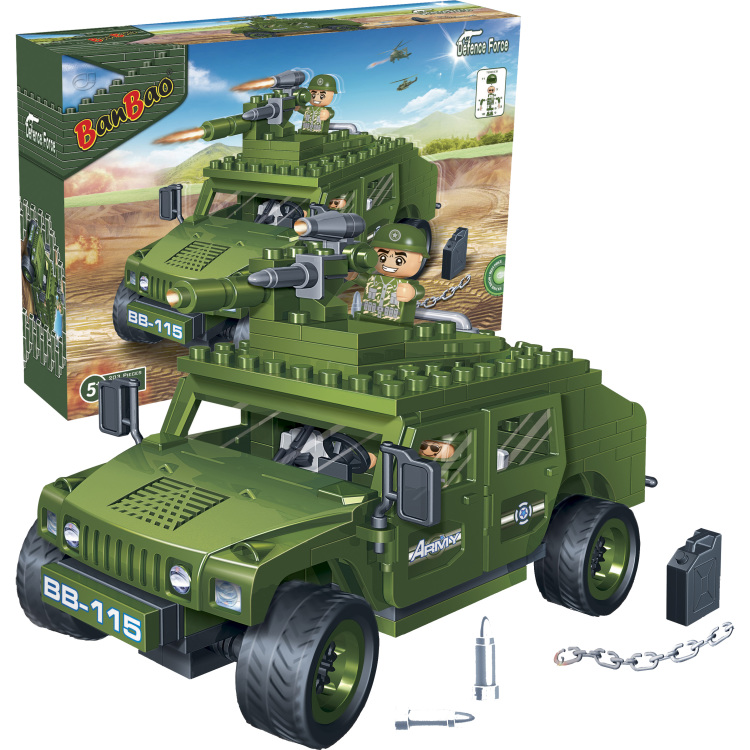 Banbao Leger Brave Warrior Jeep 8842