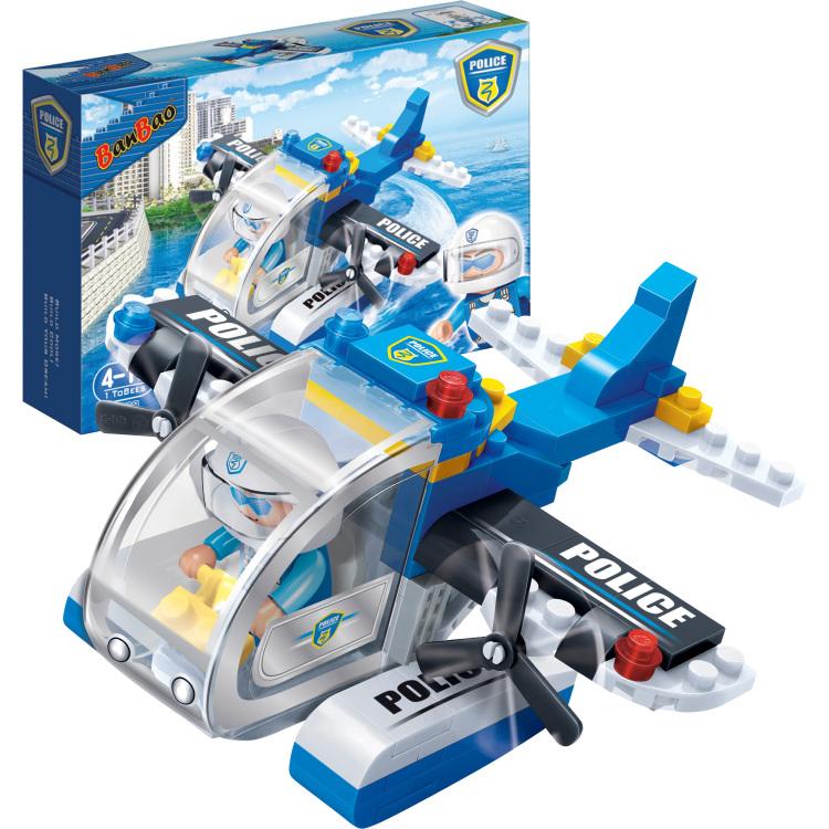 Police - Politievliegtuig