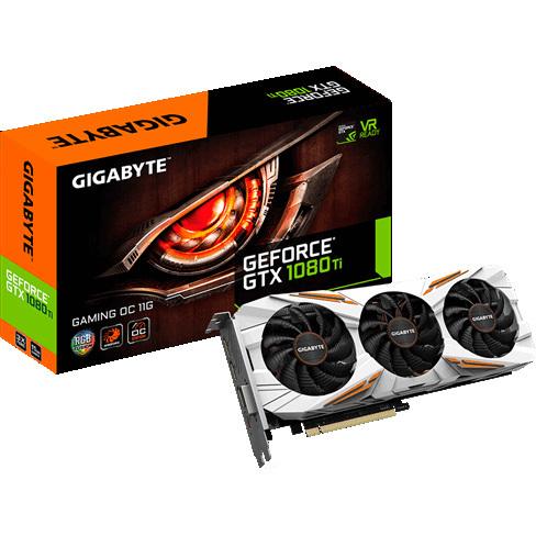 GeForce GTX 1080 Ti Gaming OC 11G voor €788