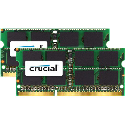 Crucial Apple 8 GB SODIMM DDR3-1600 Kit van 2