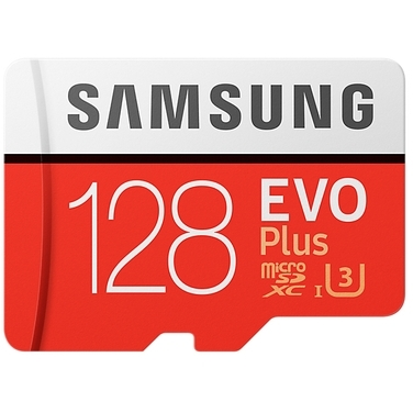 Samsung microSDXC EVO+ 128GB met adapter MB-MC128GA-EU