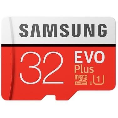 Samsung microSDHC EVO+ 32GB met adapter MB-MC32GA-EU