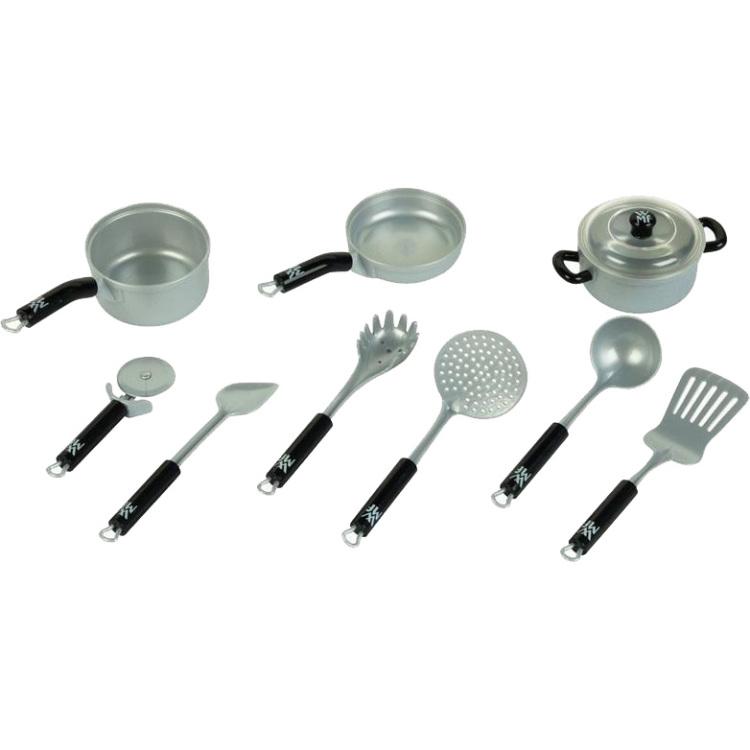 Theo Klein WMF pot and kitchen equipment set