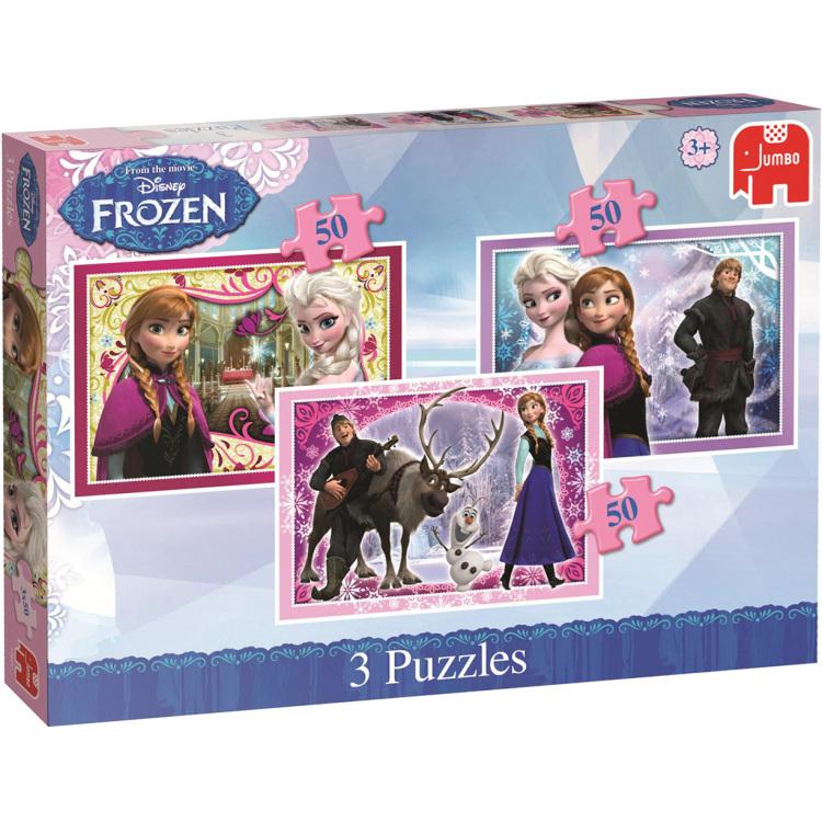 Disney Frozen 3in1 Puzzels