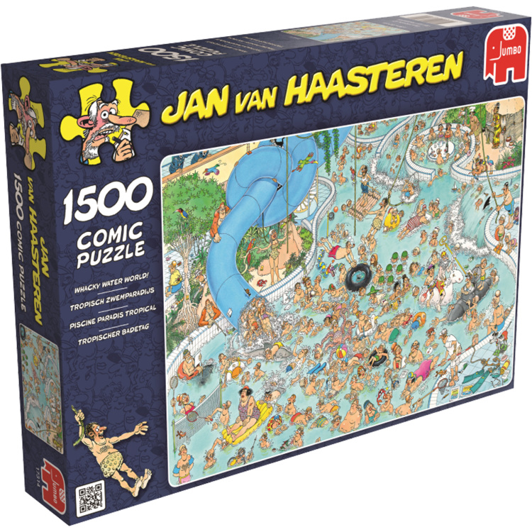 Jumbo puzzel Tropisch Zwemparadijs