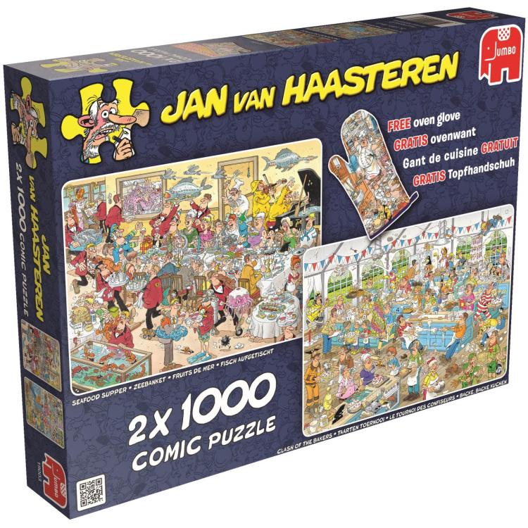 Jan Van Haasteren: Eet- En Bakfestijn Puzzels
