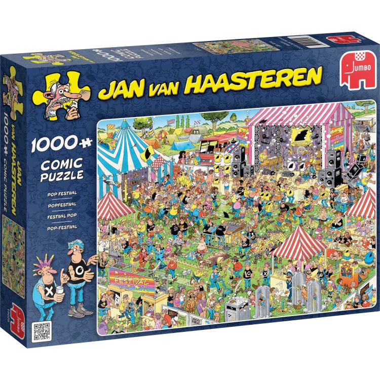 Puzzel Jvh: Popfestival 1000 Stukjes