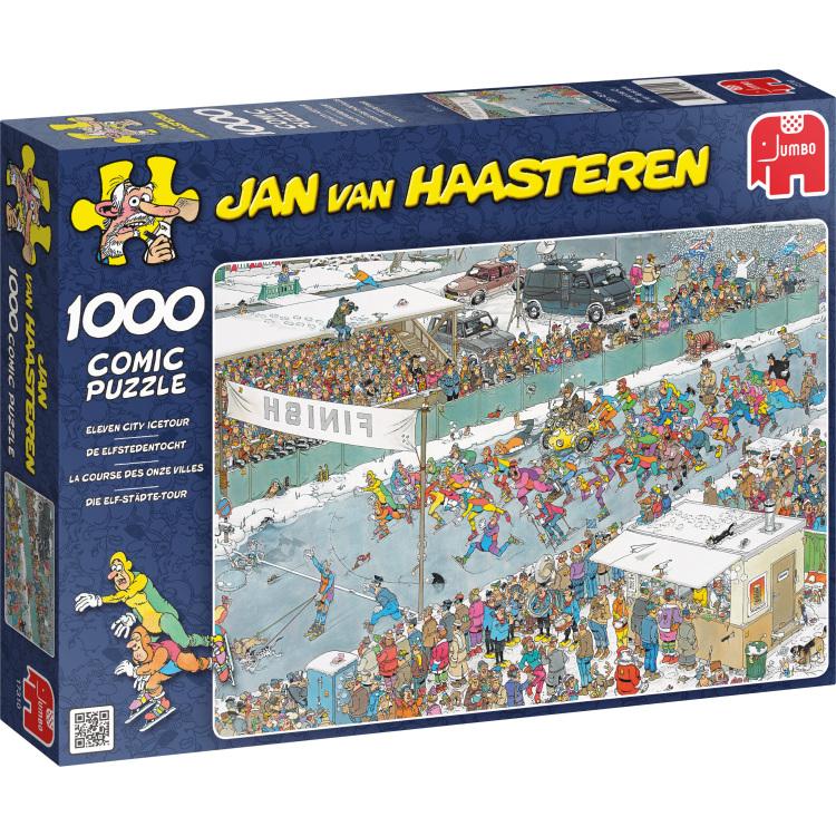 Jan van Haasteren Elfstedentocht -