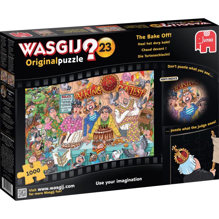 Puzzel Wasgij 23 Bake Off 1000 Stukjes