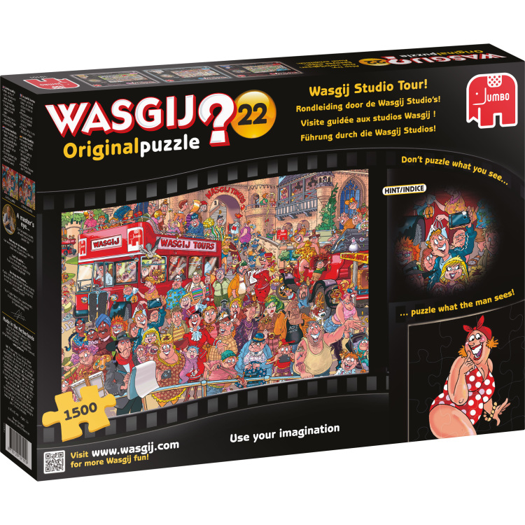 Puzzel Wasgij 22 Studio Tour 1500 Stukjes