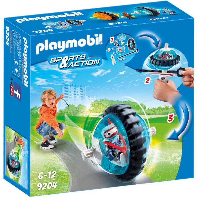 Monobike blauw Playmobil (9204)