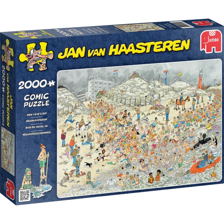 Jumbo Jan van Haasteren puzzel New year 2000 stukjes