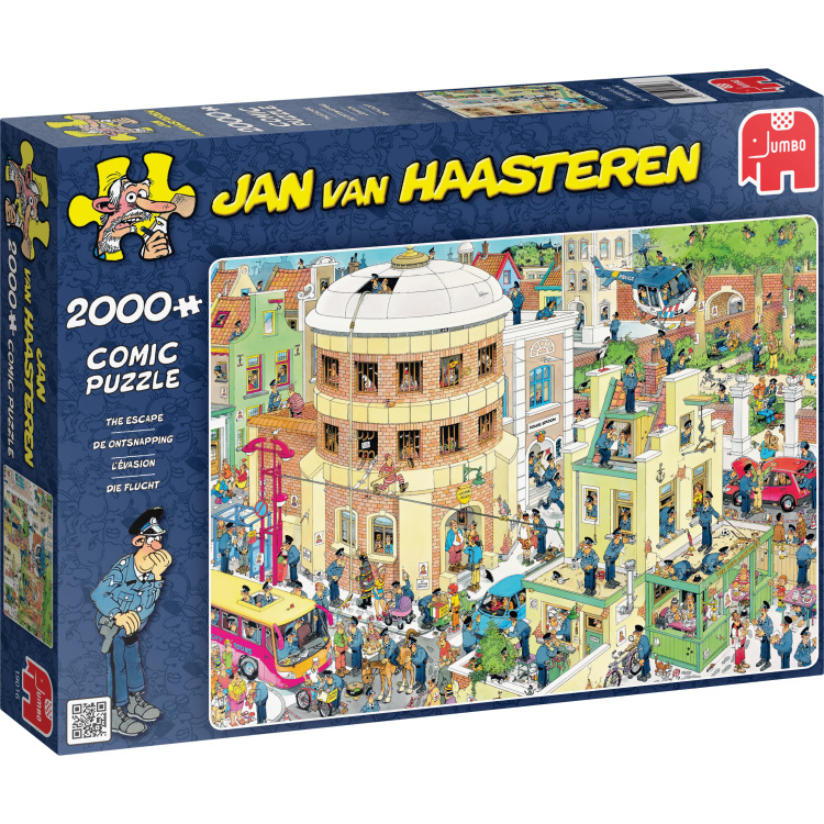2000 stuks Puzzel Jvh De Ontsnapping