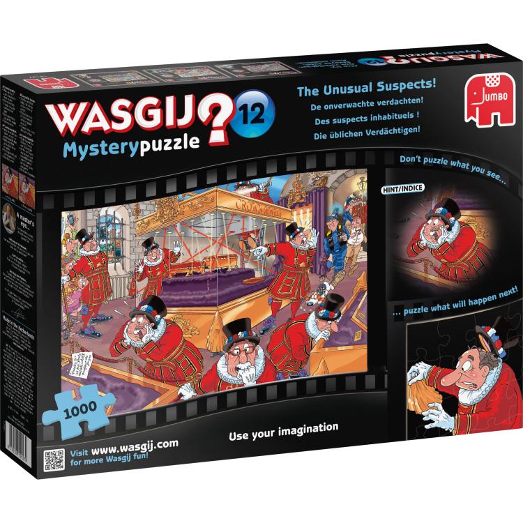 Puzzel Wasgij Mystery 12: Unusual Susp 1000 Stukjes