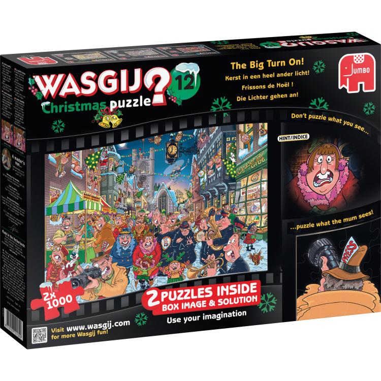 Wasgij? Christmas 12: Kerst In Een Heel Puzzels
